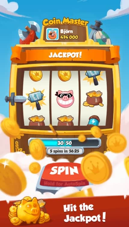 Coin Master Unlimited Spins Mod Apk