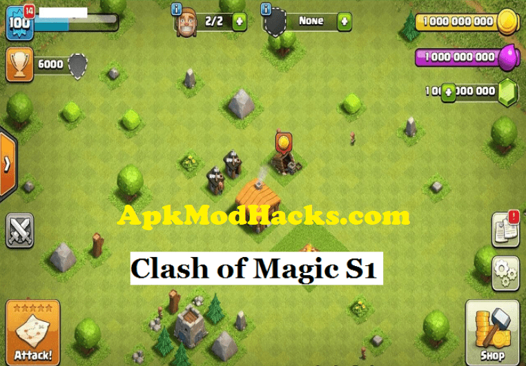 Clash Of Clans Mod Apk v10 322 Unlimited Everything (*100