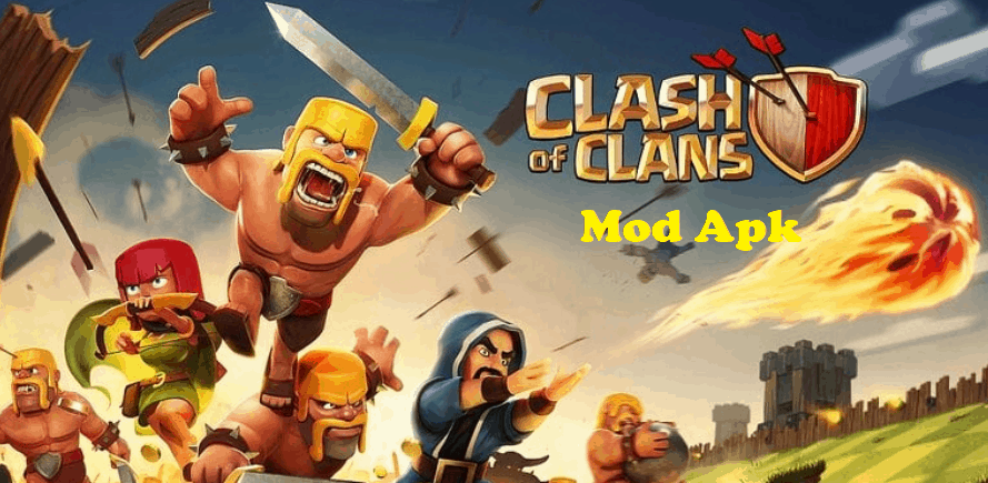 clash of clans mod apk unlimited money and gold