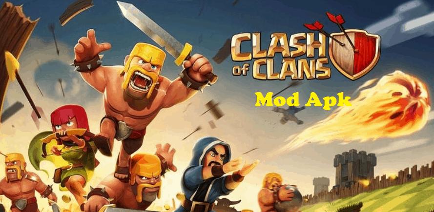coc mod clash of clans apk