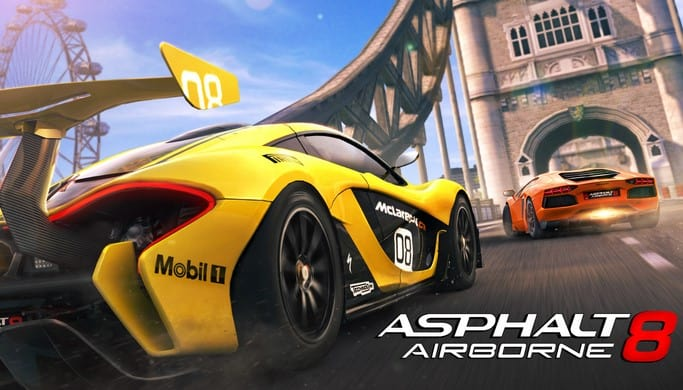 Asphalt 8: Airborne Mod Apk v5.3.1a (OBB+Unlimited Money)