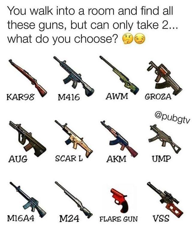 Pubg Mod Apk Guns